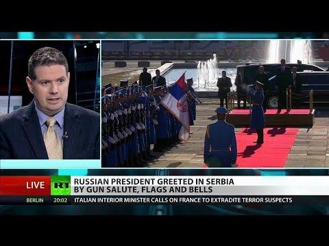 Putin in Serbia: NATO, church and Balkans politics