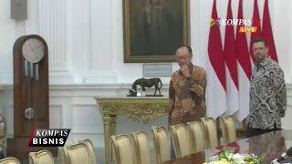 Presiden Bank Dunia Temui Presiden Jokowi