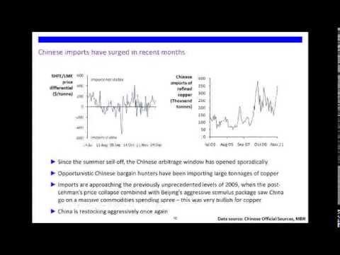 CBSA Webinar: 2012 Copper Market Forecast