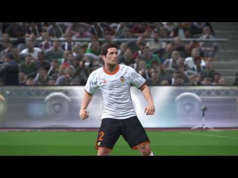 Valencia CF - FC Barcelona mestalla liga Santander Pro Evolution Soccer 2017