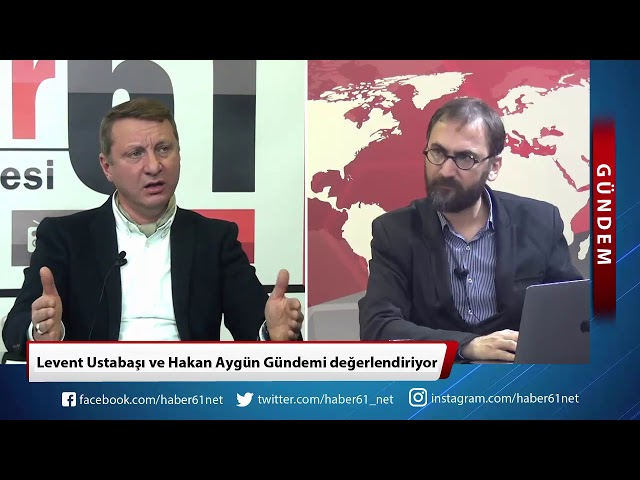 Levent Ustabaşı ve Hakan Aygün Trabzon Gündemini değerlendirdi