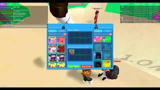 (Roblox bubble gum simulator) Using my friend fuzz's pet Gummy Winged Hydra!