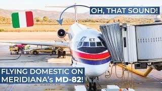 TRIPREPORT | Meridiana (ECONOMY) | McDonnell Douglas MD-82 | Rome Fiumicino - Olbia