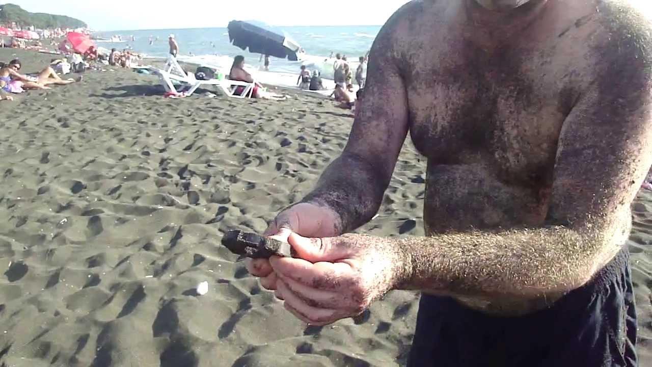 уреки грузия магнитные пески фото