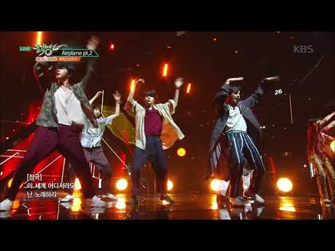 뮤직뱅크 Music Bank - Airplane pt.2 - 방탄소년단 (Airplane pt.2 - BTS)25