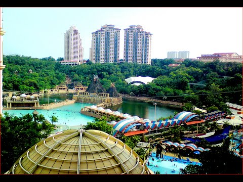 Visiting Sunway Lagoon, Theme Park in Bandar Sunway, Malaysia