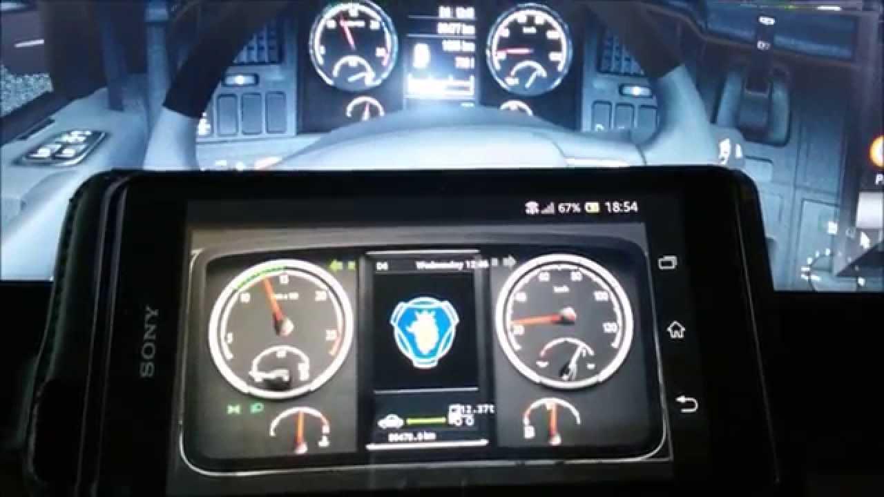 Jak zainstalować dashboard z Euro Truck Simulator 2 na Androidzie