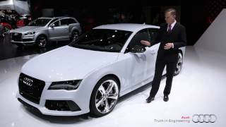 2014 Audi RS 7 Walkaround at NAIAS