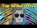 TOP 10 CS:GO SKINS   BUTTERFLY KNIFE   (Deutsch/German)