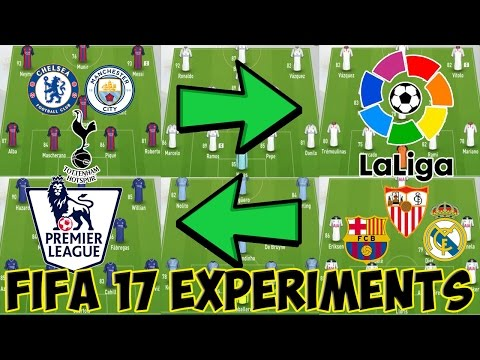 WHAT IF THE TOP EPL AND SPAIN TEAMS SWAPPED? PART 1-FIFA 17 EXPERIMENTS-FIFA 17 CAREER MODE GAMEPLAY