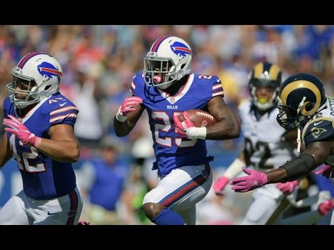 LeSean McCoy vs Rams (NFL Week 5 - 2016) - 150 Yards! Shady