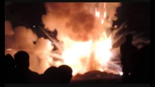 Ambu Thirunnal at St.Marys Forane Church,Chalakudy 3rd Fireworks,  - 10.02.2014 Monday,