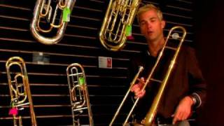 How to Play the Flute, Trombone & Trumpet : The Parts of the Trombone