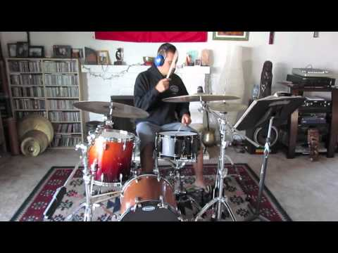Rymo - 6 - 8 Double Paradiddle Afro Cuban - Free Drum Lesson
