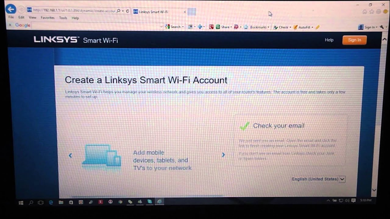 Setup linksys wireless n router youtube greentooth Gallery