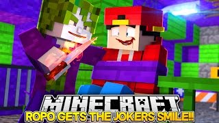 Minecraft Adventure - LITTLE ROPO HAS THE JOKERS SMILE!!