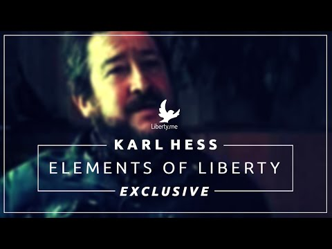 EXCLUSIVE VIDEO: Karl Hess on The Practice of Liberty (1 of 5)