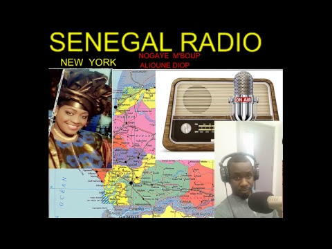 RADIO SENEGAL NEW YORK RECOIT GORGUI  SENE