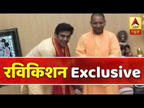 BJP Candidate From Gorakhpur Ravi Kishan Meets Yogi Adityanath | ABP News