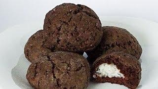 Печенье с Кокосовой Начинкой кулинарный видео рецепт
