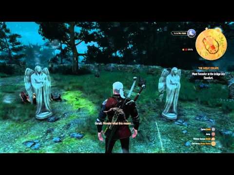 The Witcher 3: Wild Hunt - Weeping Angels Easter Egg