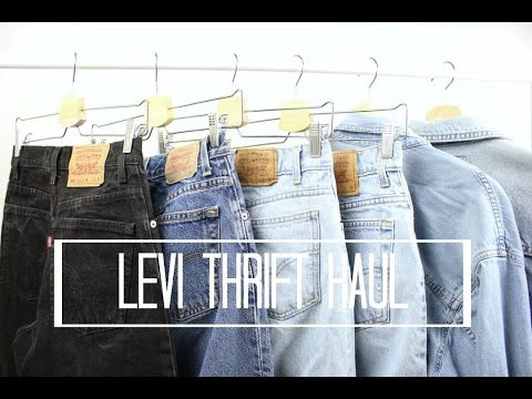 new concept 782b9 a09bf Levi Thrift Haul *Try-On*