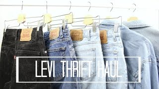 Levi Thrift Haul *Try-On*