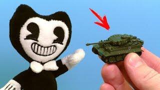 як з пластиліну зробити танк тигр