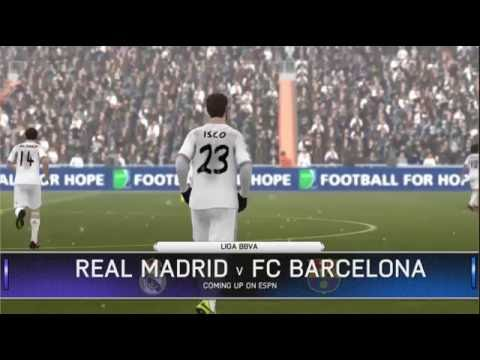 Me - Real Madrid Vs Computer - Barcelona