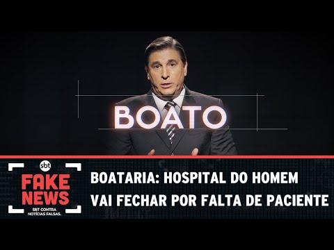 SBT Contra Notícias Falsas: Hospital do homem vai fechar por falta de paciente?