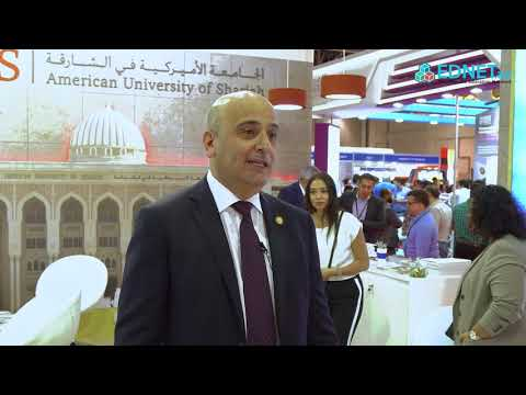 AUS Events | American University of Sharjah participates in GETEX 2018: Dr. Mahmoud Anabtawi