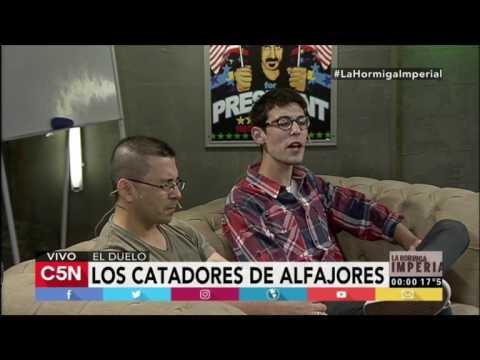 """El Lord de los Alfajores y Alfajor Perdido con Pettinato en """"La Hormiga Imperial"""""""