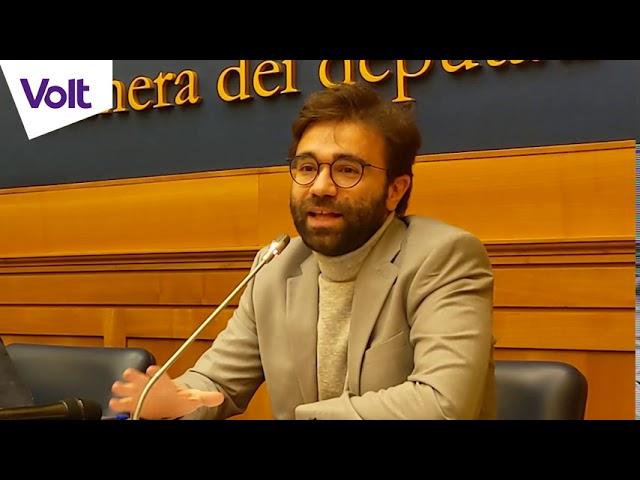 YouTube: NO al taglio dei Parlamentari: intervento del Presidente di Volt Italia Andi Shehu