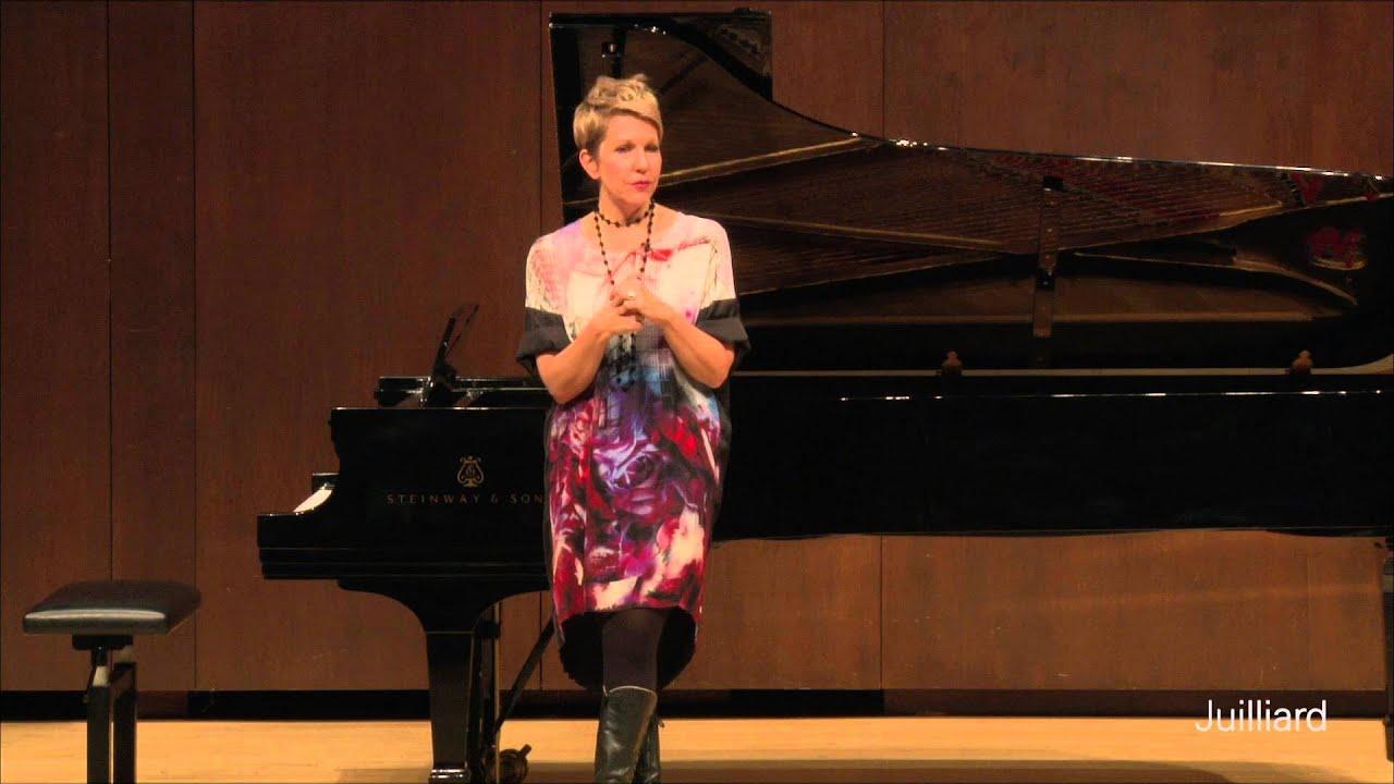 Joyce DiDonato Master Class, December 10, 2015: Q&A with Joyce DiDonato