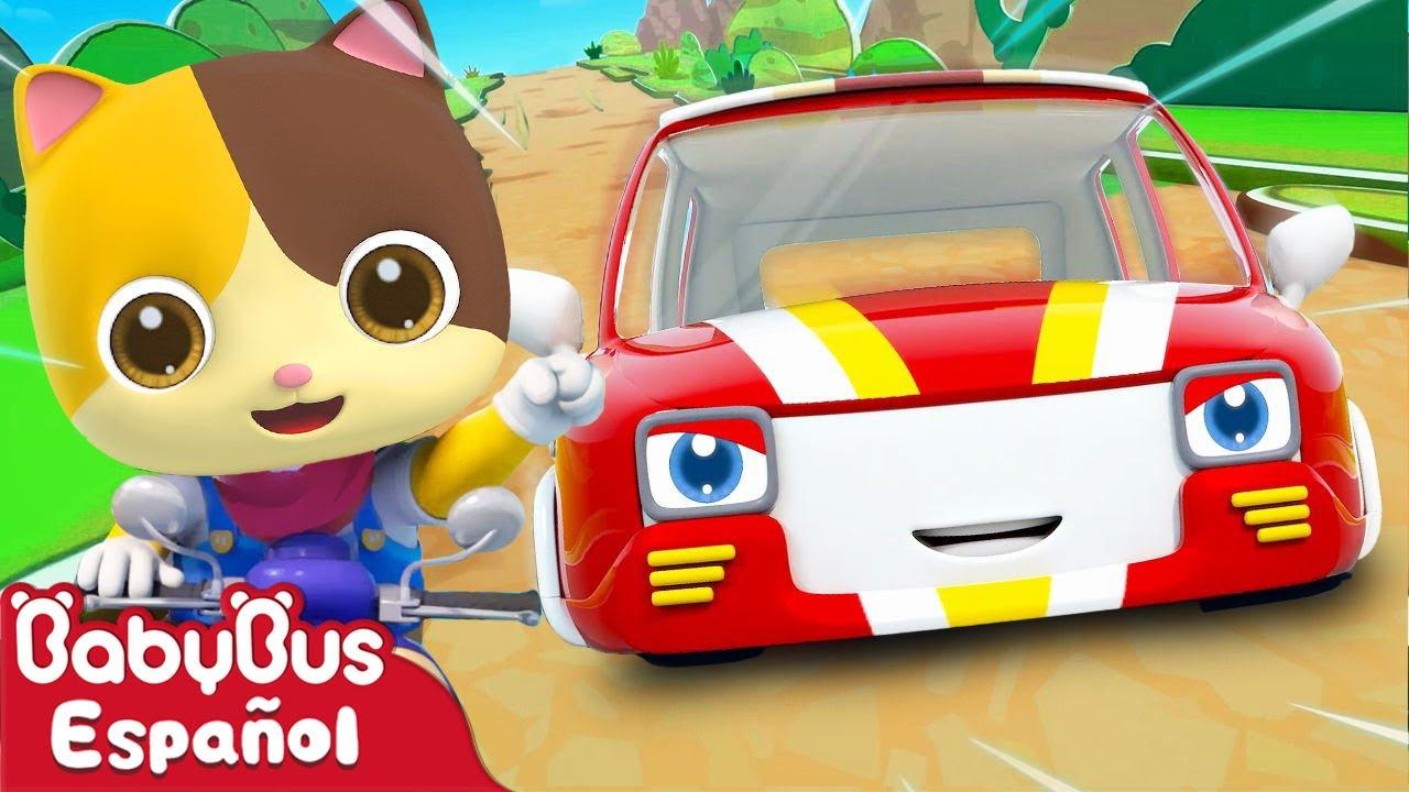 Autos de Carrera | Canciones Infantiles | Video Para Niños | BabyBus Español