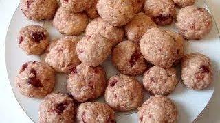 Coconut Cherry Cookie, Vegan Cookie Recipe