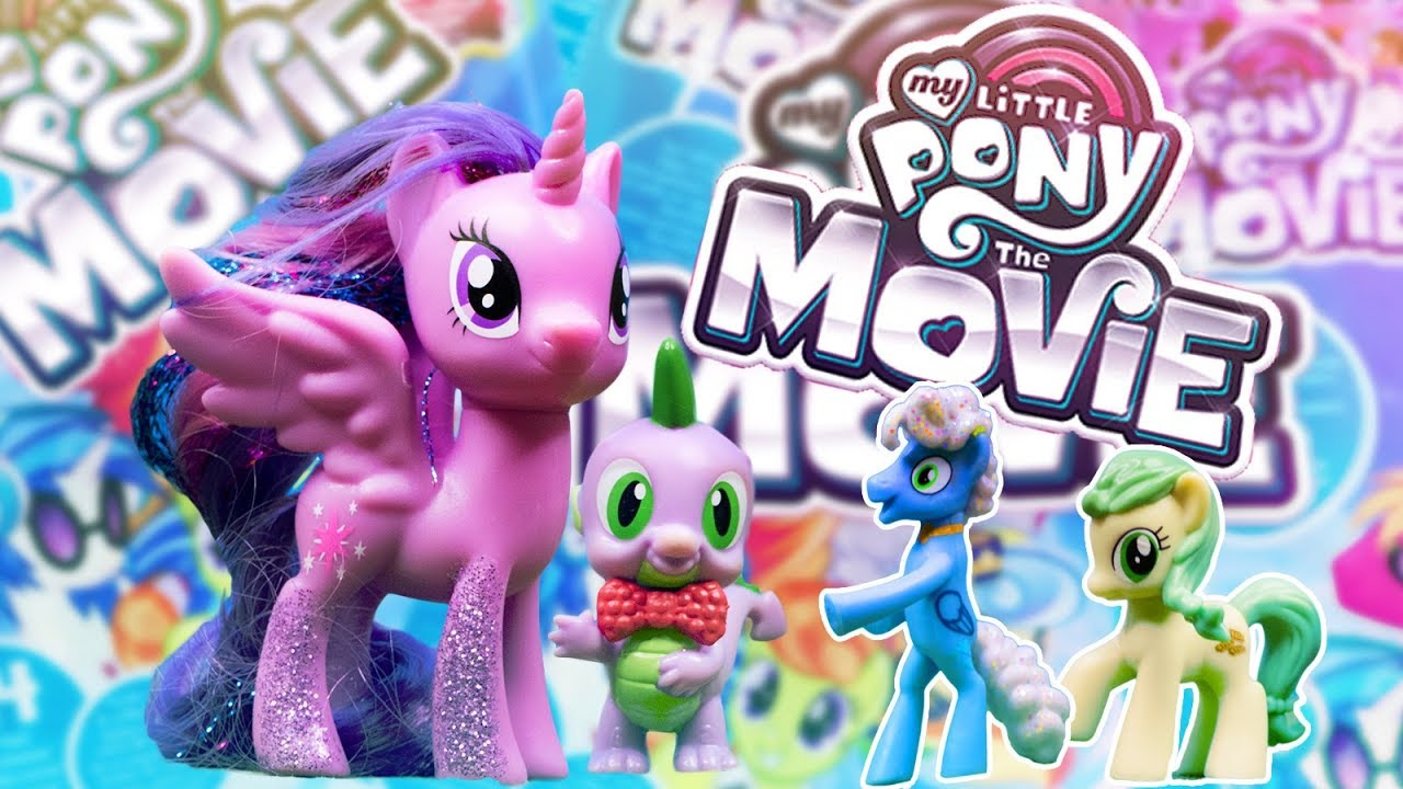 My Little Pony The Movie 2017 Surprise Bag Opening Wave 22 Mlp