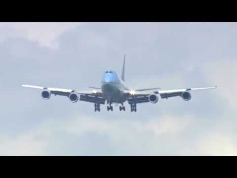 WATCH: The Most Impressive Air Force One Landing You'll Ever