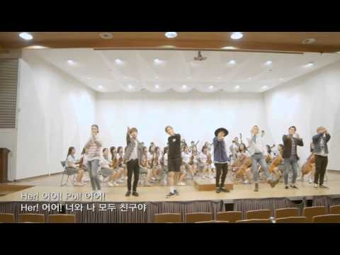 Block B x Seoul Police - School Peace Project Anti Bullying Song