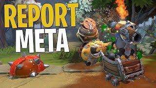 The Report Techies Meta - DotA 2 Funny Moments