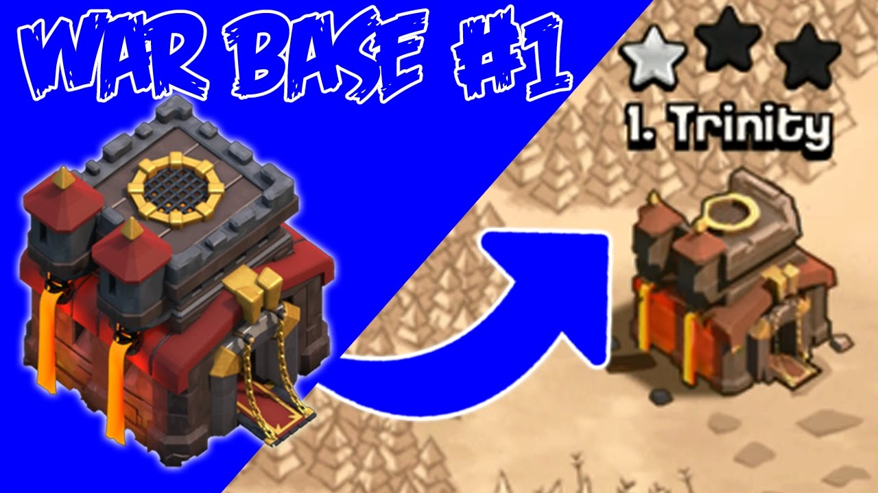 Kuat Juga Base War Coc Th 10 Ini Clash Of Clans Indonesia Youtube