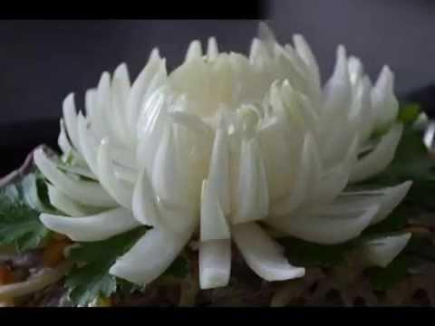 Как сделать цветок из лука видео фото 224