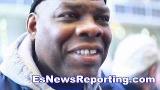 Iran Barkley On Floyd Mayweather Vs Muhammad Ali - Esnews Boxing