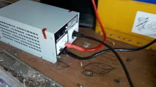 Урааа пришёл с ремонта инвертор ИС 24-1500