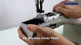 How to Adjust Timing on the Techsew 2700 Industrial Sewing Machine