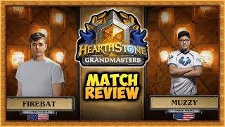 Hearthstone: Firebat Vs Muzzy Grandmasters - Match Review (Week 3)