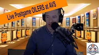 OILERSLIVE Live Post game Edmonton Oilers vs Colorado Avalanche 6 -4 WIN