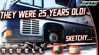 Newell Coach Air Bag Removal! Working on a Million Dollar RV from 1996: What's It Like?