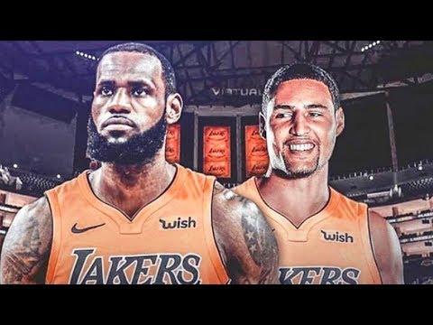 LeBron James Recruits Klay Thompson To Join Lakers (Parody)