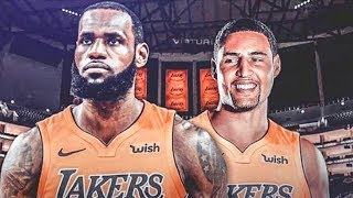 LeBron James Recruits Klay Thompson To Join Lakers (Parody)